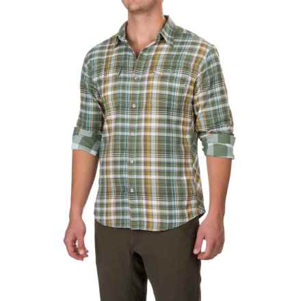 Marmot Montrose Shirt - UPF 50, Long Sleeve (For Men) in Stone Green - Closeouts