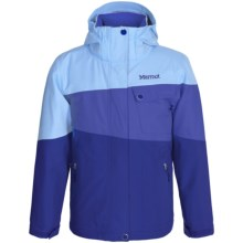 Marmot Moonstruck Ski Jacket - Waterproof, Insulated (For Little and Big Girls) in Midnight Purple/Gemstone - Closeouts