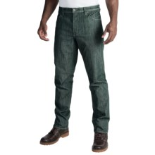 Marmot Morrison Jeans - UPF 50+, Straight Leg (For Men) in Dark Mineral - Closeouts