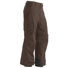 Marmot Motion Cord MemBrain® Snow Pants - Waterproof (For Men) in Dark Brown - Closeouts