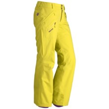 Marmot Motion MemBrain® Snow Pants - Waterproof, Insulated (For Women) in Acid Yellow - Closeouts