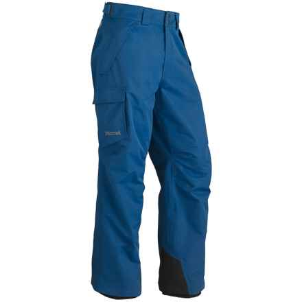 Marmot Motion Snow Pants - Waterproof (For Men) in Blue Night - Closeouts