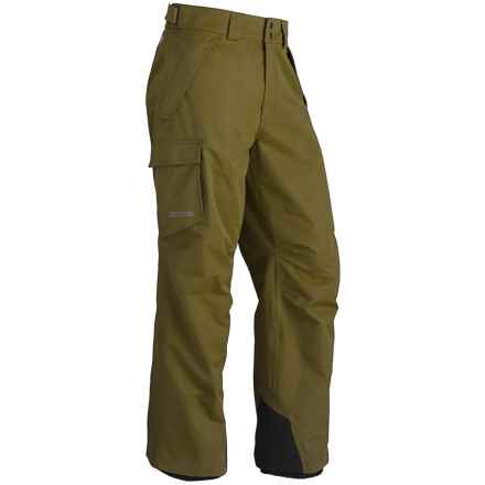 Marmot Motion Snow Pants - Waterproof (For Men) in Brown Moss - Closeouts