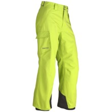 Marmot Motion Snow Pants - Waterproof (For Men) in Green Lime - Closeouts