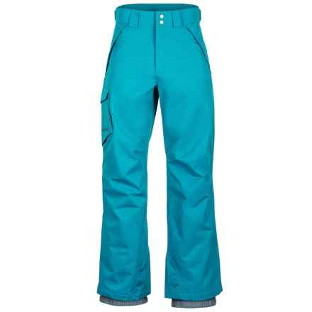 Marmot Motion Snow Pants - Waterproof (For Men) in Turkish Tile - Closeouts