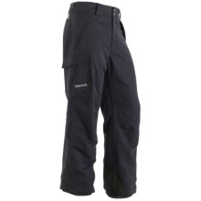 Marmot Motion Snow Pants - Waterproof, Insulated (For Men) in Dark Granite - Closeouts