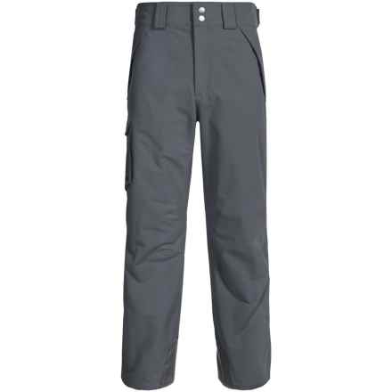 Marmot Motion Snow Pants - Waterproof, Insulated (For Men) in Steel Onyx - Closeouts