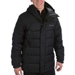 Marmot Mountain Down Jacket - 650 Fill Power (For Men) in Black