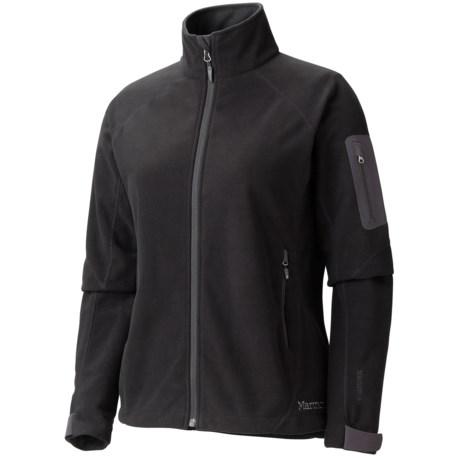Marmot Mt. Blanc Windstopper® Jacket - Fleece (For Women) in Black