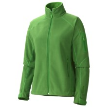 Marmot Mt. Blanc Windstopper® Jacket - Fleece (For Women) in Dark Grass - Closeouts
