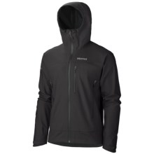 Marmot Nabu Soft Shell Jacket - Polartec® NeoShell®, Waterproof (For Men) in Black - Closeouts