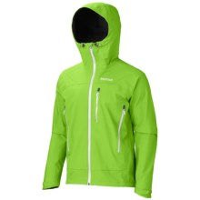 Marmot Nabu Soft Shell Jacket - Polartec® NeoShell®, Waterproof (For Men) in Green Envy - Closeouts