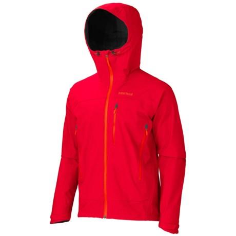 Marmot Nabu Soft Shell Jacket - Polartec® NeoShell®, Waterproof (For Men) in Team Red