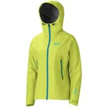 Marmot Nano AS Gore-Tex® Jacket - Waterproof (For Women) in Green Lime - Closeouts