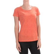 Marmot Nina T-Shirt - UPF 30, Short Sleeve (For Women) in Emberglow - Closeouts