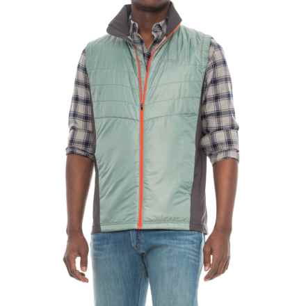 Marmot Nitro Vest - Insulated (For Men) in Sea Fog/Slate Grey - Closeouts