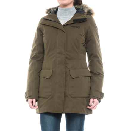 Marmot Nome Down Jacket - Waterproof, 700 Fill Power (For Women) in Deep Olive - Closeouts