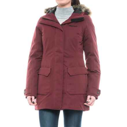 Marmot Nome Down Jacket - Waterproof, 700 Fill Power (For Women) in Port Royal - Closeouts