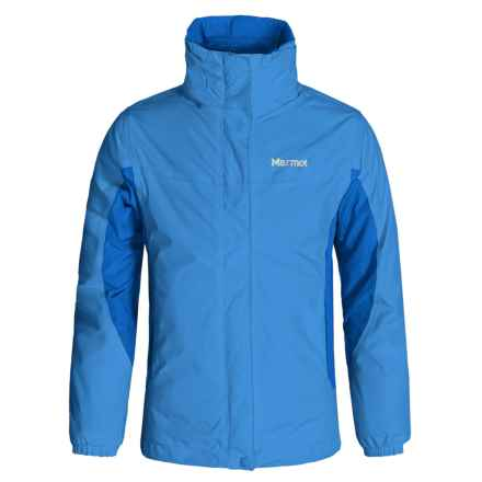 Marmot Northshore 3-in-1 Jacket - Waterproof (For Little and Big Girls) in Blue Bay/Gem Blue - Closeouts