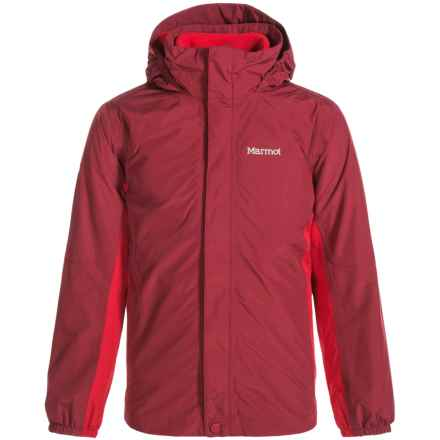 Marmot Northshore MemBrain® Jacket - Waterproof, 3-in-1 (For Little and Big Boys) in Brick/Team Red - Closeouts