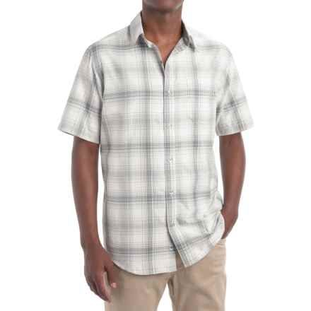 Marmot Notus Shirt - UPF 30, Short Sleeve (For Men) in Steel - Closeouts