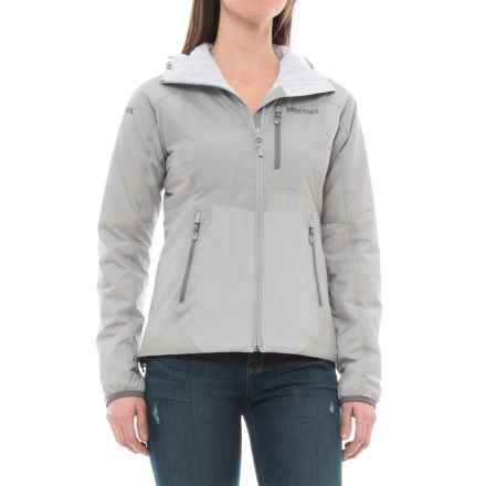Marmot Novus Hooded Jacket - Insulated (For Women) in Bright Steel - Closeouts