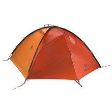 Marmot Nusku 2P Tent with Footprint - 2-Person, 3-Season in Terra Cotta/Pale Pumpkin/Nickel - Closeouts