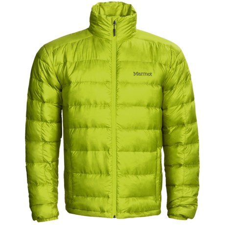 Marmot Odin Down Jacket - 800 Fill Power (For Men) in Green Lime