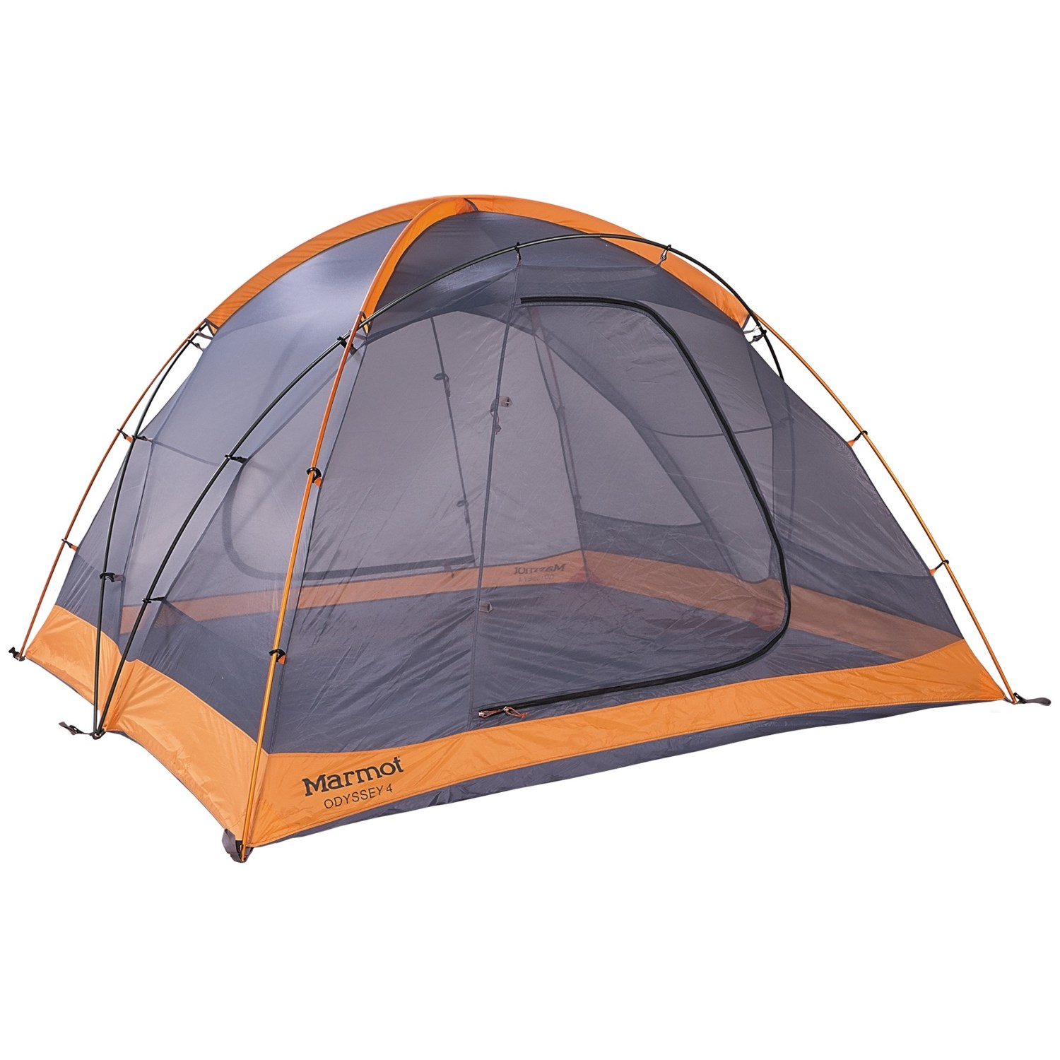 Marmot Odyssey 4 Tent - 4-Person 3-Season in Pale Pumpkin/ ...  sc 1 st  Sierra Trading Post : marmot 2 person tent - memphite.com