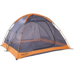 Marmot Odyssey 4 Tent - 4-Person, 3-Season in Pale Pumpkin/Terracotta
