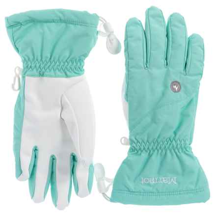 Marmot On Piste Gloves (For Women) in Blue Tint - Closeouts