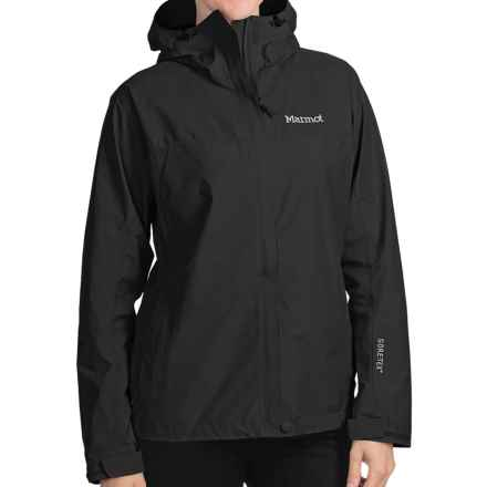 Marmot Optima Gore-Tex® Jacket - PacLite®, Waterproof, Hooded (For Women) in Black - Closeouts