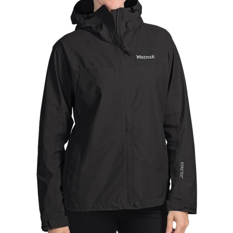 Marmot Optima Gore-Tex® Jacket - PacLite®, Waterproof, Hooded (For Women) in Green Envy