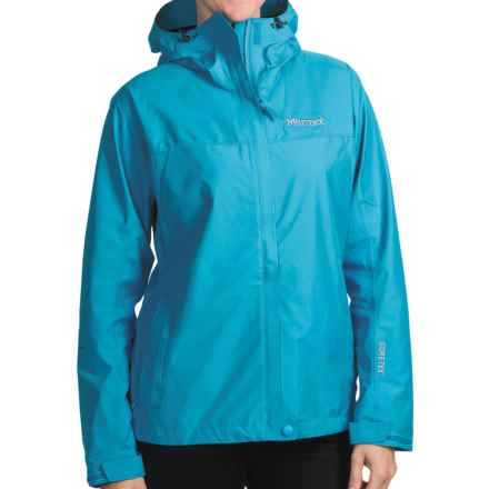Marmot Optima Gore-Tex® Jacket - PacLite®, Waterproof, Hooded (For Women) in Blue Sea - Closeouts