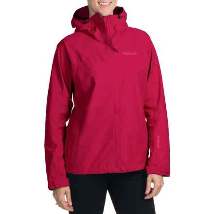 Marmot Optima Gore-Tex® Jacket - PacLite®, Waterproof, Hooded (For Women) in Dark Raspberry - Closeouts