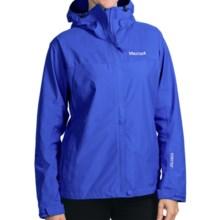 Marmot Optima Gore-Tex® Jacket - PacLite®, Waterproof, Hooded (For Women) in Gem Blue - Closeouts
