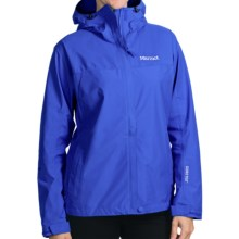 Marmot Optima Gore-Tex® Jacket - PacLite®, Waterproof, Hooded (For Women) in Gem Blue - Closeouts
