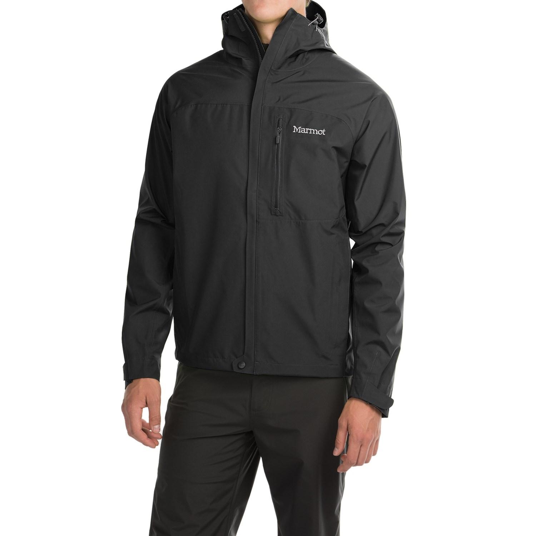 Mens jacket half - Marmot Optima Gore Tex Paclite Jacket Waterproof For Men In