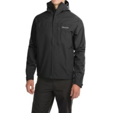Marmot Optima Gore-Tex® PacLite® Jacket - Waterproof (For Men) in Black - Closeouts