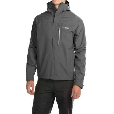 Marmot Optima Gore-Tex® PacLite® Jacket - Waterproof (For Men) in Cinder - Closeouts