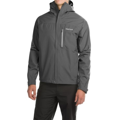 Marmot Optima Gore-Tex® PacLite® Jacket - Waterproof (For Men) in Cinder