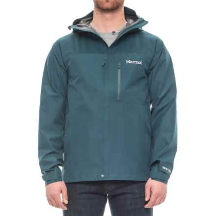 Marmot Optima Gore-Tex® PacLite® Jacket - Waterproof (For Men) in Denim - Closeouts