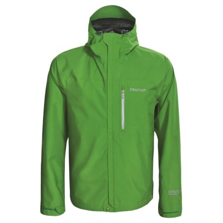 Marmot Optima Gore-Tex® PacLite® Jacket - Waterproof (For Men) in Lime