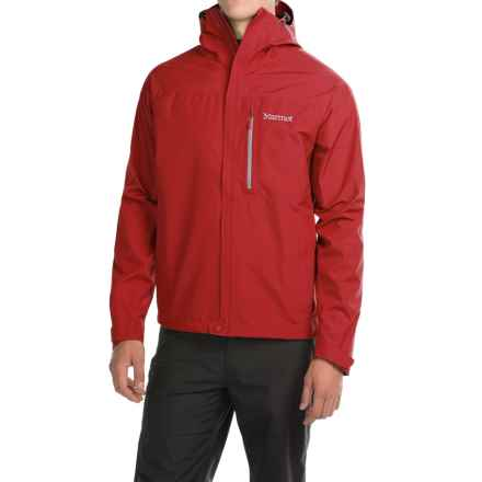 Marmot Optima Gore-Tex® PacLite® Jacket - Waterproof (For Men) in Team Red - Closeouts