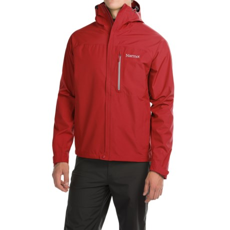 Marmot Optima Gore-Tex® PacLite® Jacket - Waterproof (For Men) in Team Red