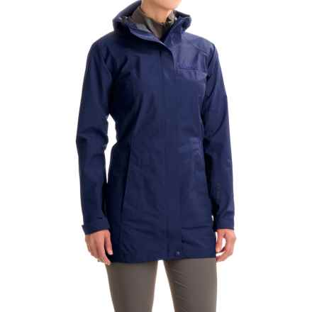 Marmot Optima LX Long Gore-Tex® PacLite® Rain Coat - Waterproof (For Women) in Arctic Navy - Closeouts