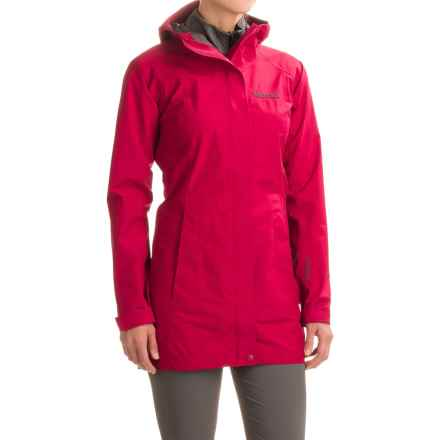 Marmot Optima LX Long Gore-Tex® PacLite® Rain Coat - Waterproof (For Women) in Dark Raspberry - Closeouts