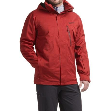 Marmot Origins X Snowboard Jacket - Waterproof, Insulated (For Men) in Dark Crimson