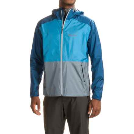Marmot Orno Jacket - Waterproof (For Men) in Canary Blue/Blue Night - Closeouts