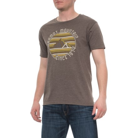 c42e38e1 Marmot Overlook T-Shirt - Short Sleeve (For Men) in Brown Heather -